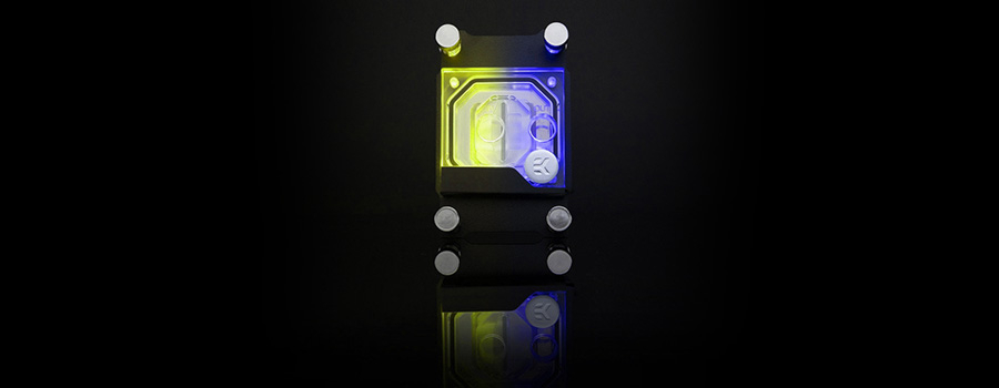 EK Classic D-RGB water block for AMD AM4