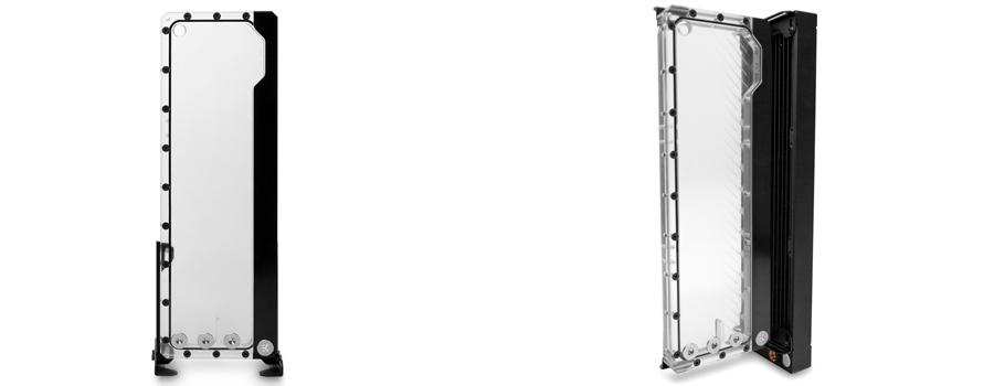 EK Loop angled bracket for FLT reservoirs 120mm