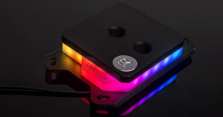 EK-Velocity RGB AMD nickel acetal