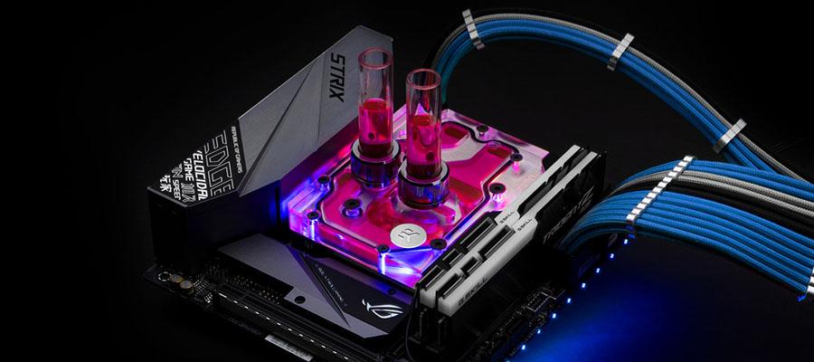 EK-Momentum ROG Strix Z390-I D-RGB monoblock